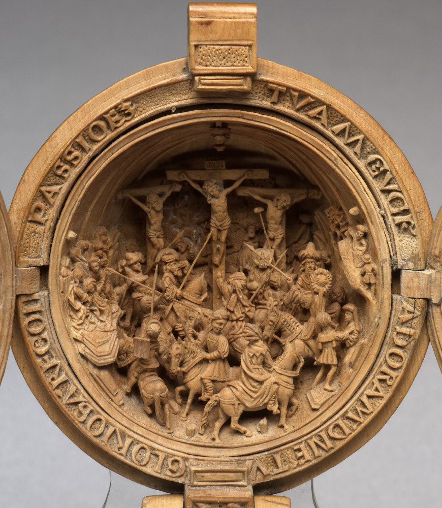 Fig.3: Upper half (Crucifixion)