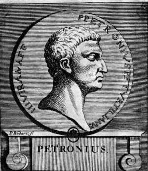 Petronius Arbiter by P Bodart (GoogleBooks) [Public domain], via Wikimedia Commons