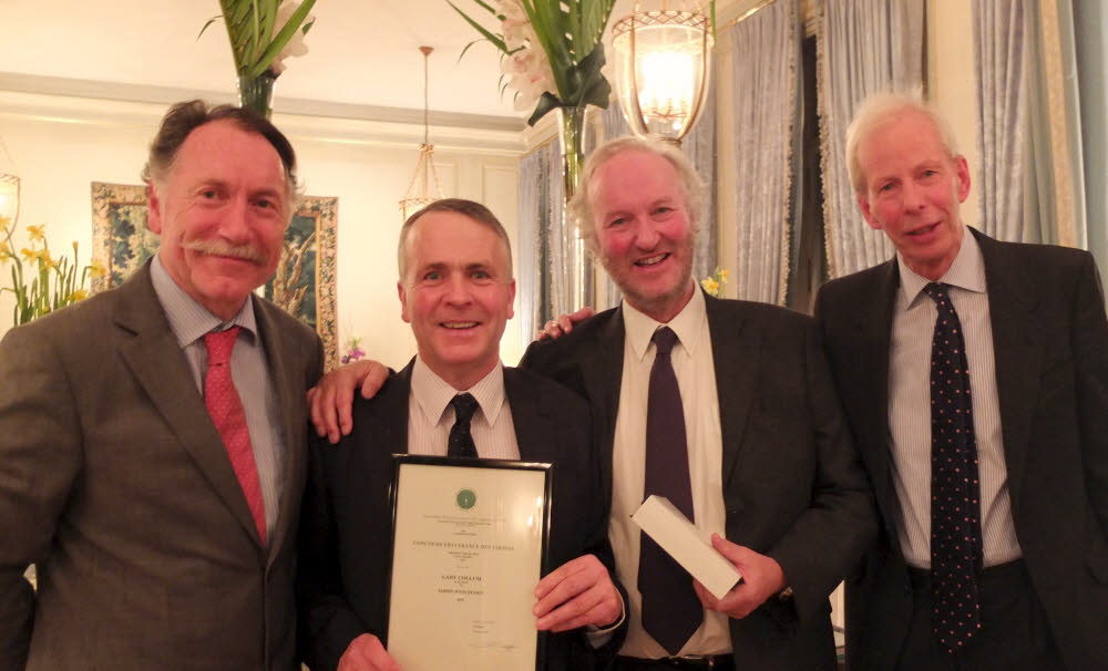 Clinton Lodge in Fletchling wins prize as a Jardin d'Exception