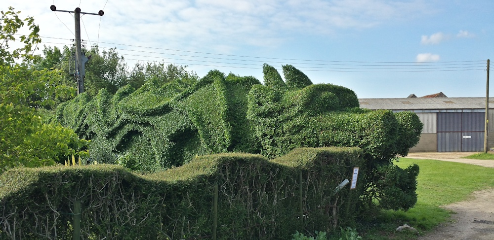 Topiary Dragon Quest