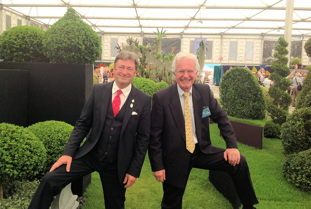 Alan Titchmarsh (Honorary EBTS UK Member)