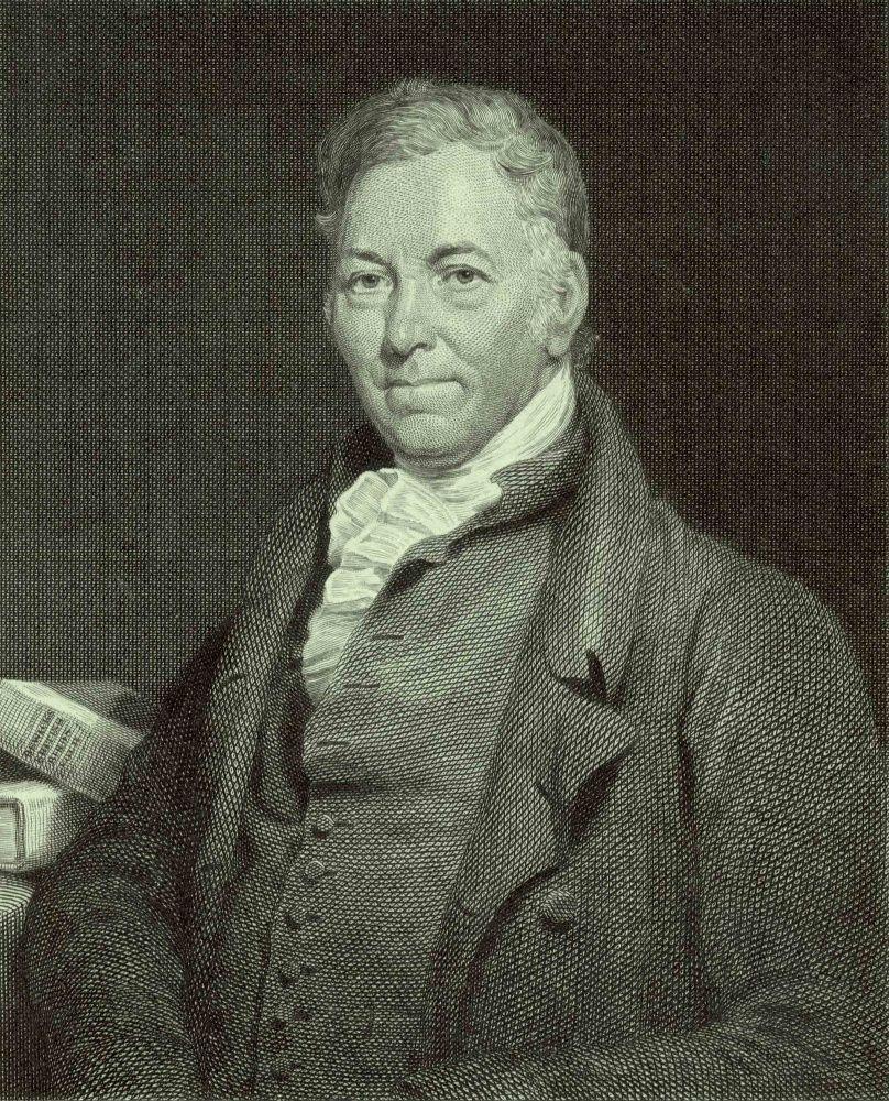 An engraving of Thomas Bewick