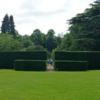 20150704 Newby Hall entrance to Wars of the Roses