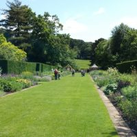 20150704 Newby Hall view of border looking down to the river