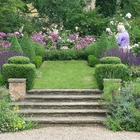 20150705 The Old Vicarage front garden through to the Church