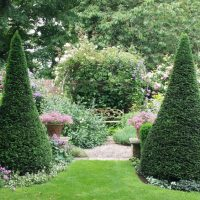 20150705 The Old Vicarage one of the places to relax in the tranquility of the garden