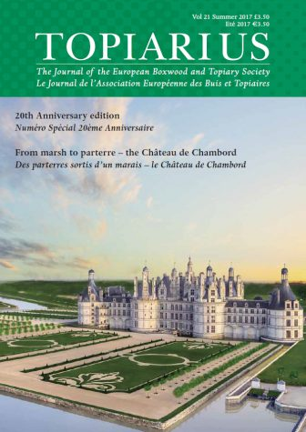 Topiarius Vol 21 front cover