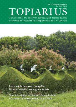 Topiarius Vol 22 front cover