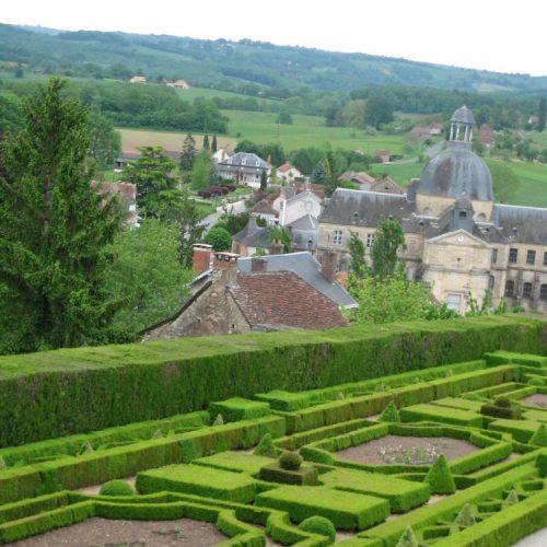 Hautefort Dordogne chateau, France 1