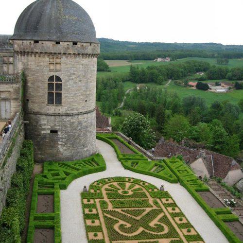 Hautefort Dordogne chateau, France 2