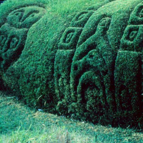 Mexico sculpture - 3 In a Mexican garden