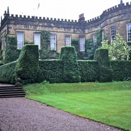 Renishaw Hall - Italianate gardens Family home of the Sitwells for 400 years in Derbyshire England - 1