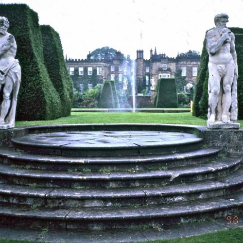 Renishaw Hall - Italianate gardens Family home of the Sitwells for 400 years in Derbyshire England - 3