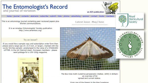 The Entomologists Record HL