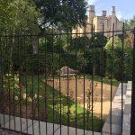 New Bath town garden.