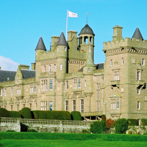 Kinnaird Castle - Summer