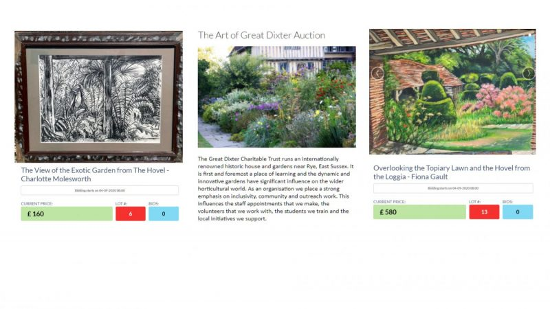 2020-08-30 Great Dixter Auction