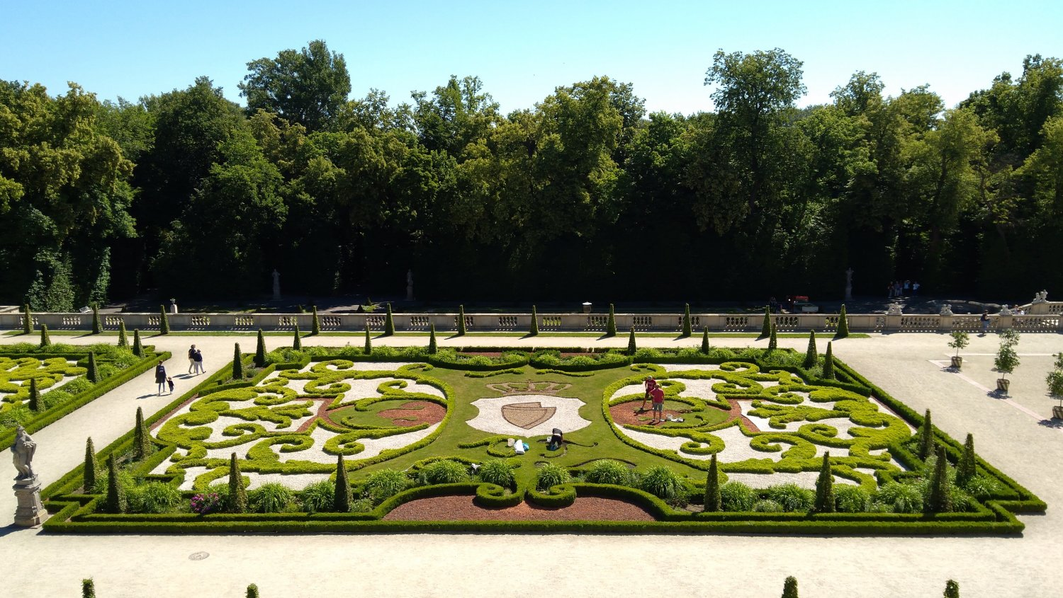 The royal garden at Wilanów – an EBTS introduction
