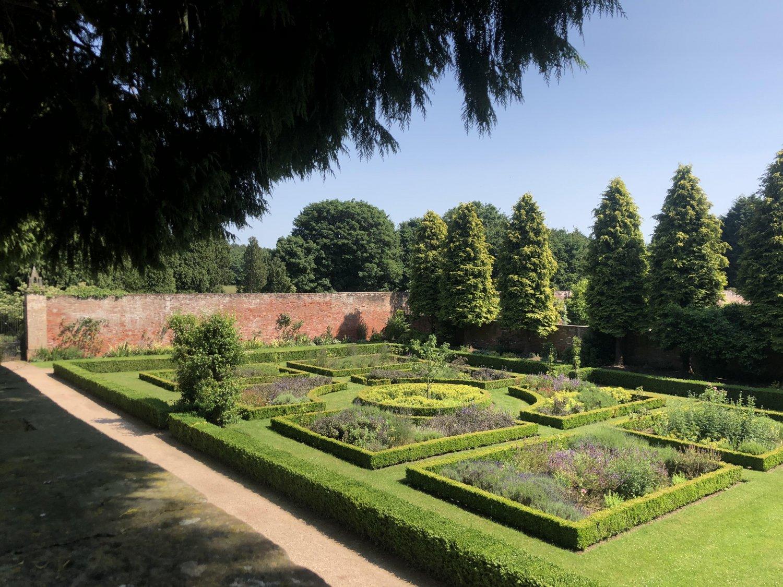 Newstead Abbey Small Walled Garden